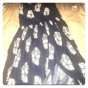 Fashion nova holy slit dress